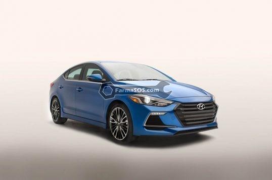2017 Hyundai Elantra Sport front three quarters 2 538x357 نکاتی درباره ی هیوندای النترا اسپرت 2017