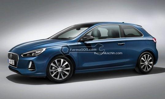 Hyundai i30 01 538x323 هیوندای i 30 با فرم بدنه ی سه درب