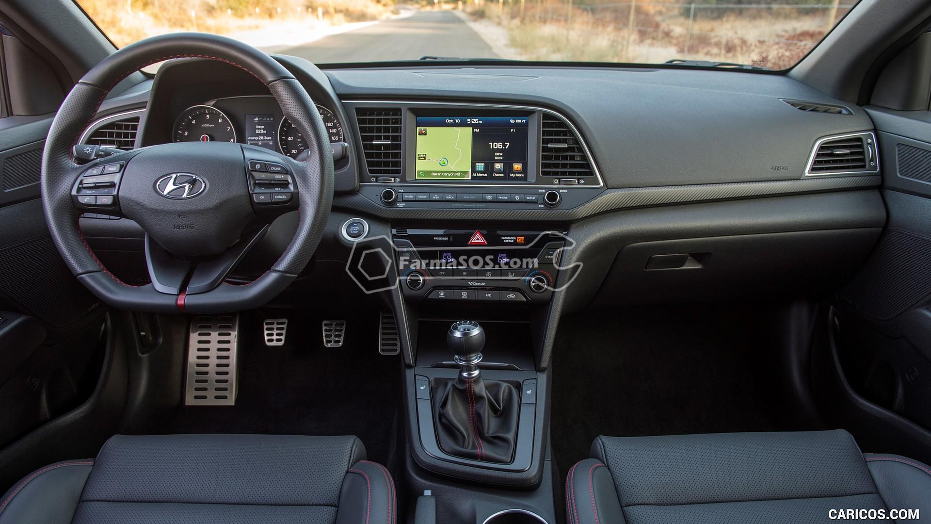 Hyundai Elantra 2016 2017 10 تصاویر هیوندای النترا مدل 2016 تا 2018