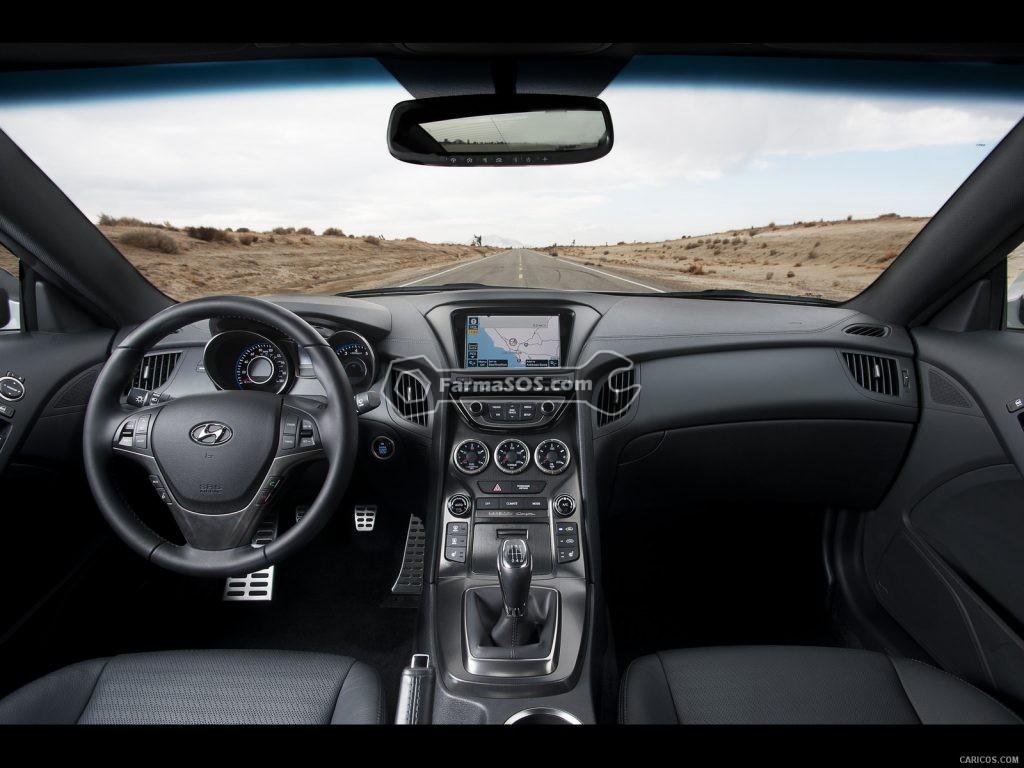 Hyundai Gensis Coupe 2013 2015 3 1024x768 مشخصات فنی هیوندای جنسیس مدل 2013 تا 2015