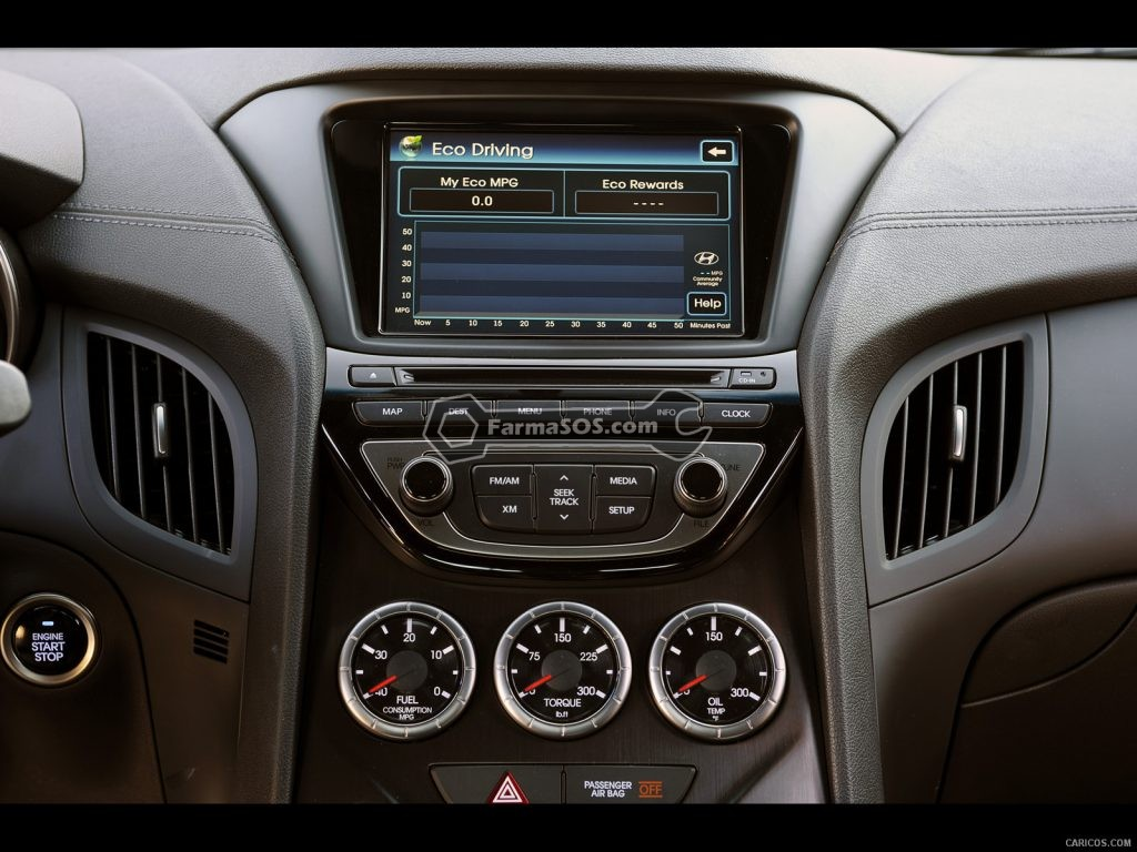 Hyundai Gensis Coupe 2013 2015 6 1024x768 مشخصات فنی هیوندای جنسیس مدل 2013 تا 2015