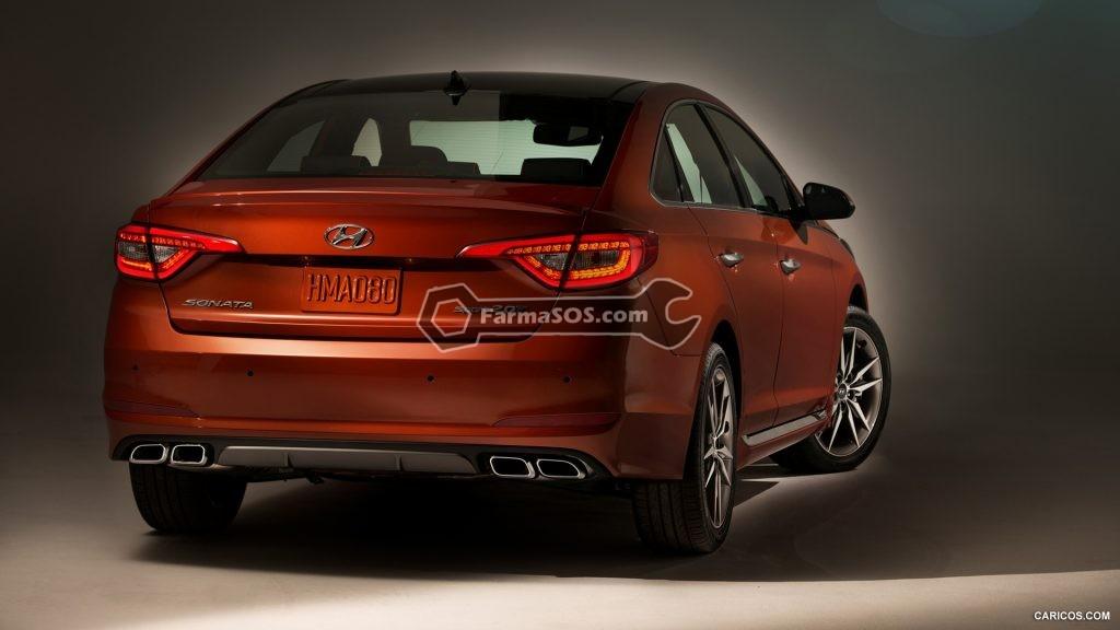 Hyundai Sonata 2015 2017 3 1024x576 مشخصات فنی هیوندای سوناتا LF مدل 2015 تا 2017