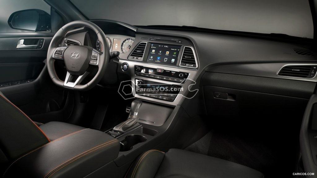 Hyundai Sonata 2015 2017 4 1024x576 مشخصات فنی هیوندای سوناتا LF مدل 2015 تا 2017