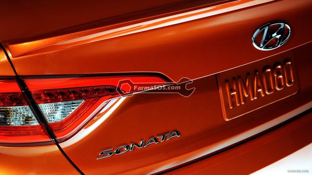 Hyundai Sonata 2015 2017 8 1024x576 مشخصات فنی هیوندای سوناتا LF مدل 2015 تا 2017