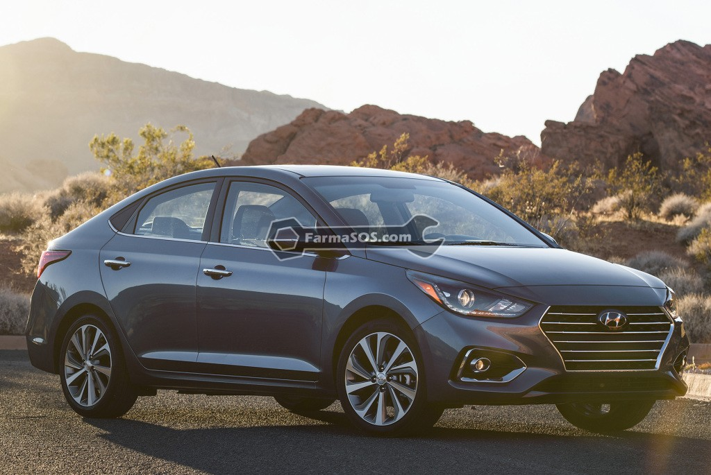 Hyundai Accent 2016 2017 1 تصاویر هیوندای اکسنت مدل 2017 تا 2018