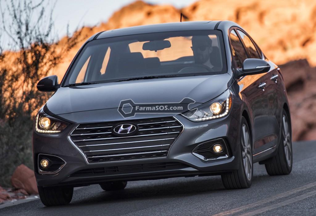 Hyundai Accent 2016 2017 3 تصاویر هیوندای اکسنت مدل 2017 تا 2018