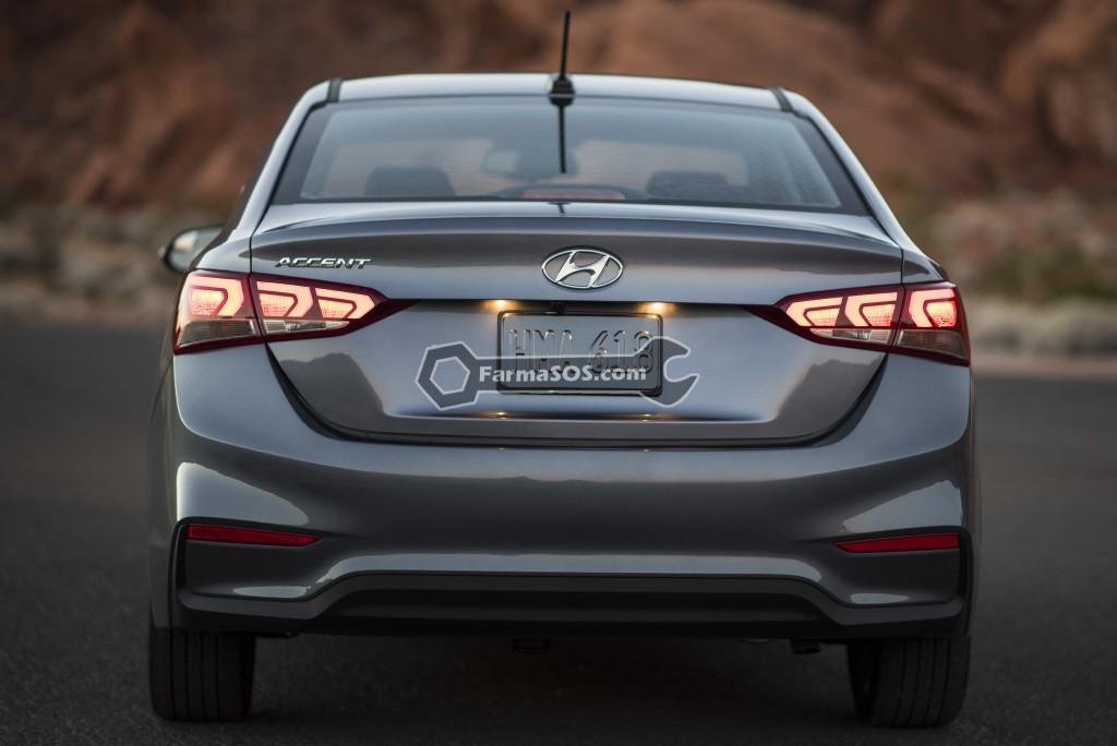 Hyundai Accent 2016 2017 4 تصاویر هیوندای اکسنت مدل 2017 تا 2018