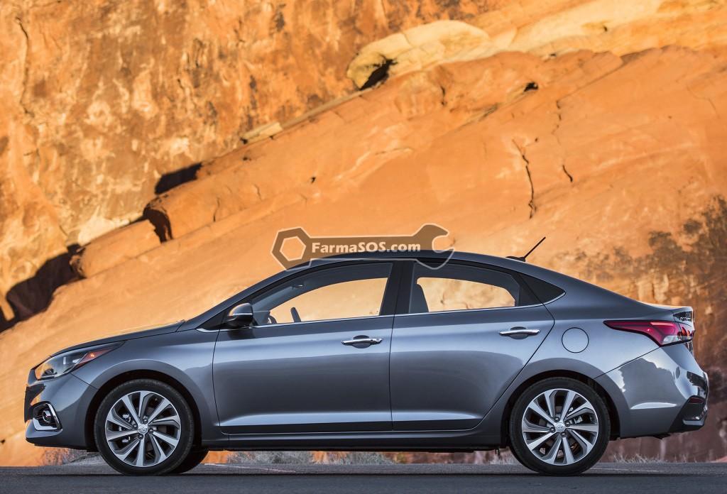 Hyundai Accent 2016 2017 8 تصاویر هیوندای اکسنت مدل 2017 تا 2018