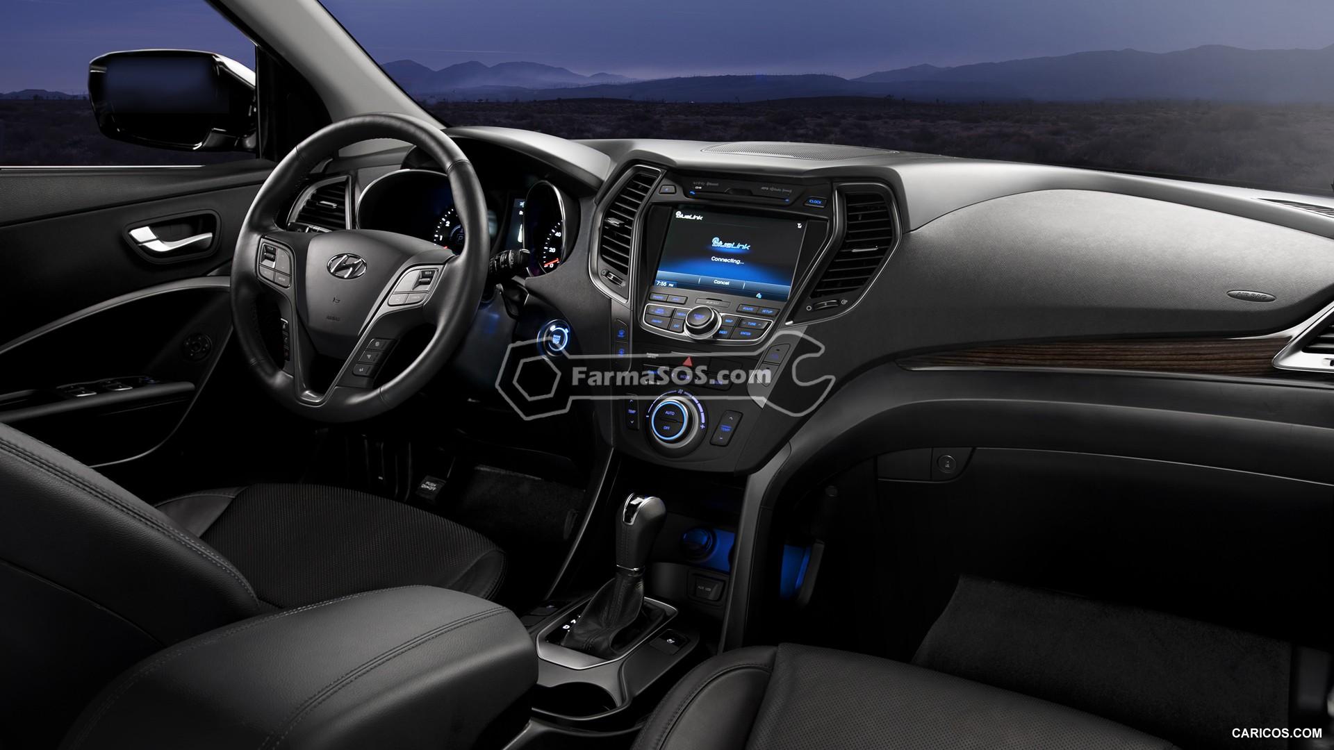 Hyundai Santafe 2013 2017 4 تصاویر هیوندای سانتافه مدل 2013 تا 2017
