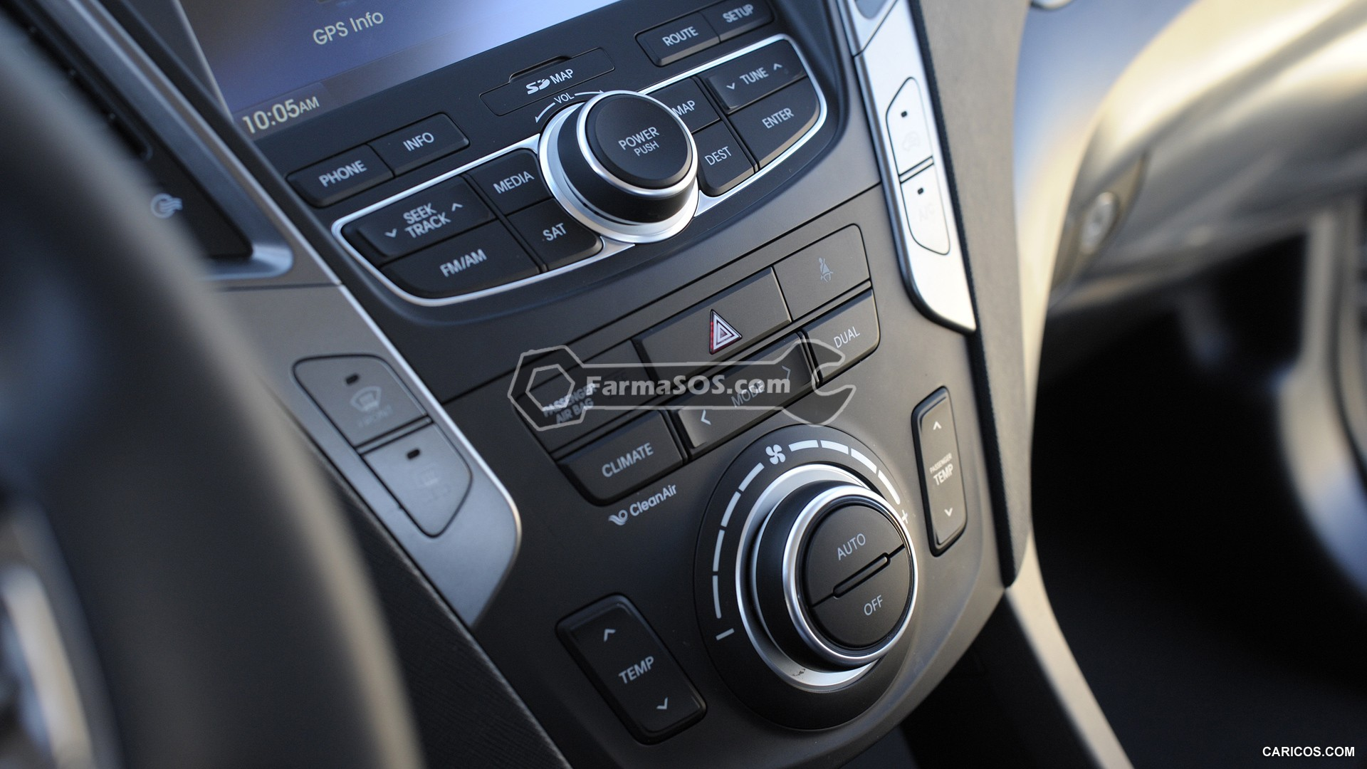 Hyundai Santafe 2013 2017 7 تصاویر هیوندای سانتافه مدل 2013 تا 2017