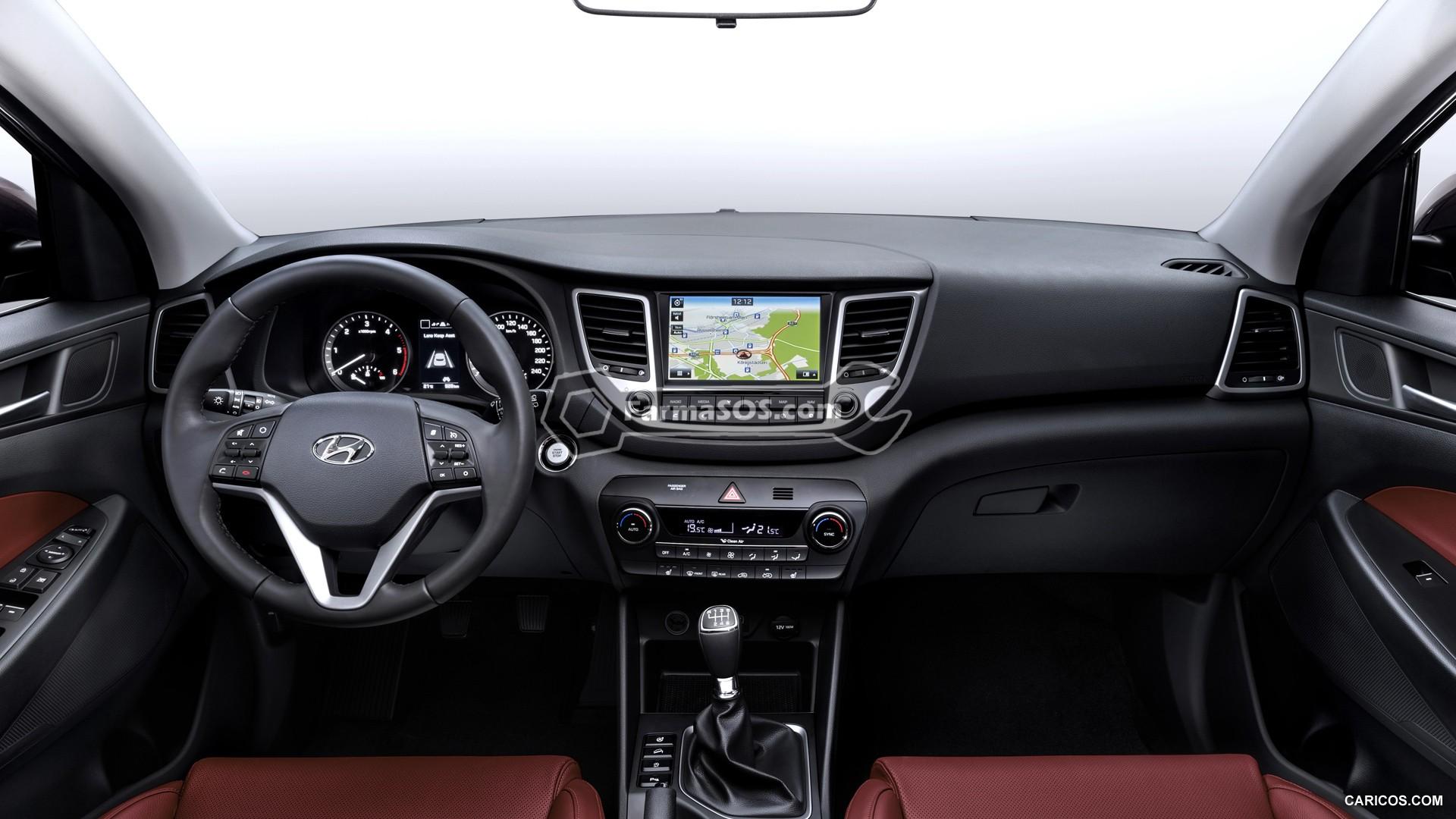 Hyundai Tucson 2015 2017 9 تصاویر هیوندای توسان مدل 2016 تا 2018