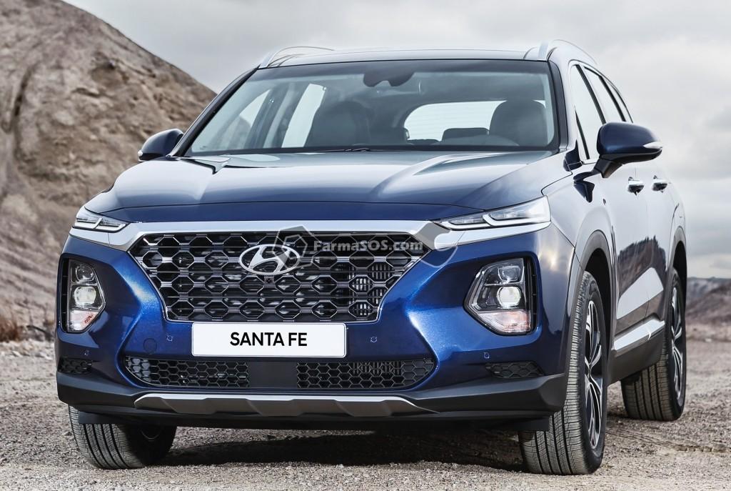 Hyundai Santafe 2018 2019 1 تصاویر هیوندای سانتافه مدل 2018 تا 2019