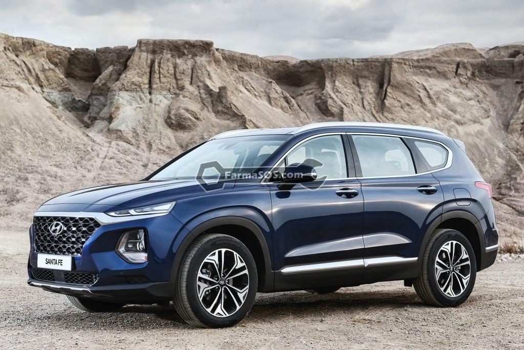 Hyundai Santafe 2018 2019 2 تصاویر هیوندای سانتافه مدل 2018 تا 2019