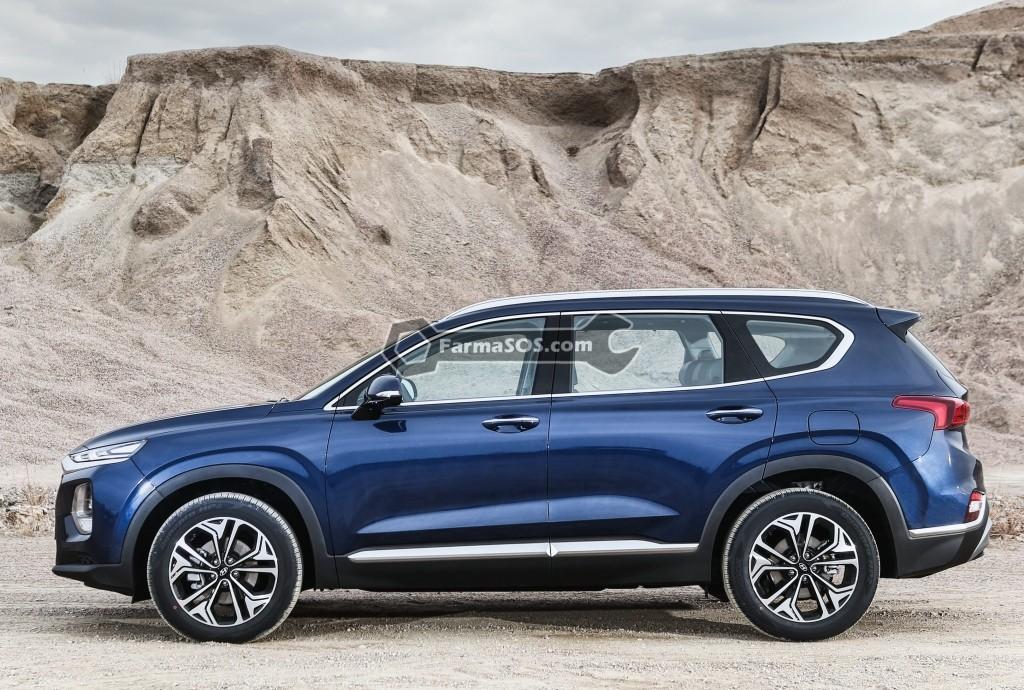 Hyundai Santafe 2018 2019 4 تصاویر هیوندای سانتافه مدل 2018 تا 2019