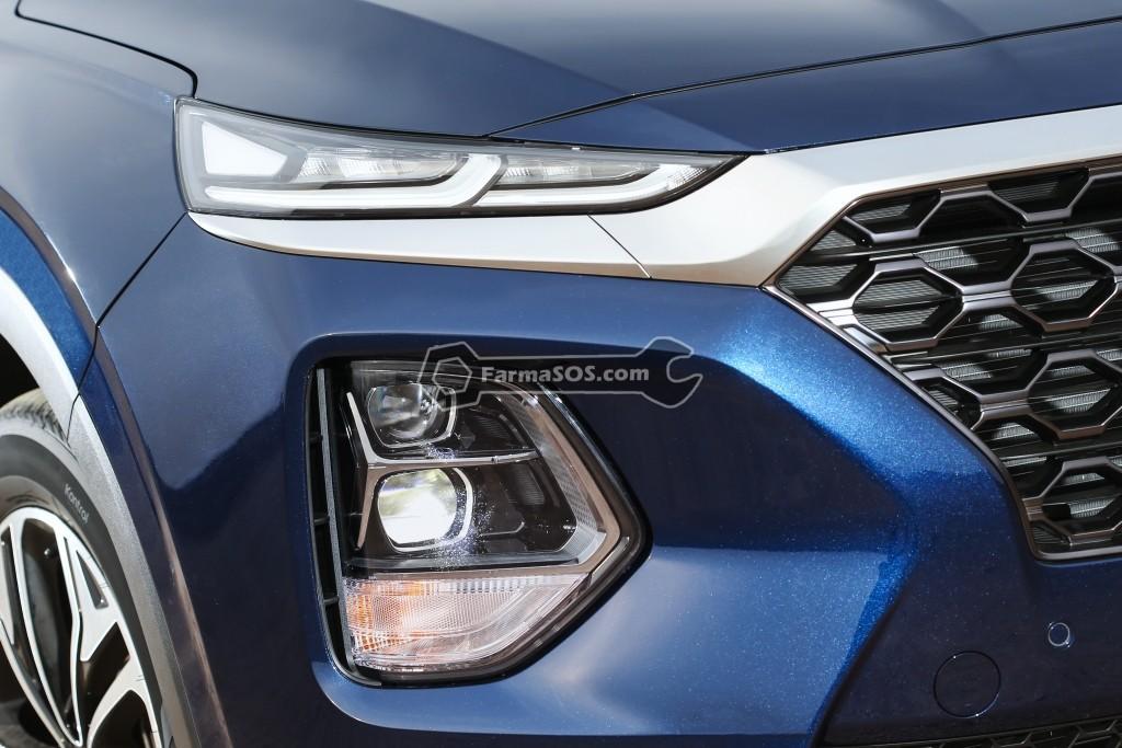Hyundai Santafe 2018 2019 5 تصاویر هیوندای سانتافه مدل 2018 تا 2019