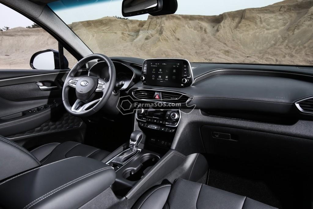 Hyundai Santafe 2018 2019 8 تصاویر هیوندای سانتافه مدل 2018 تا 2019
