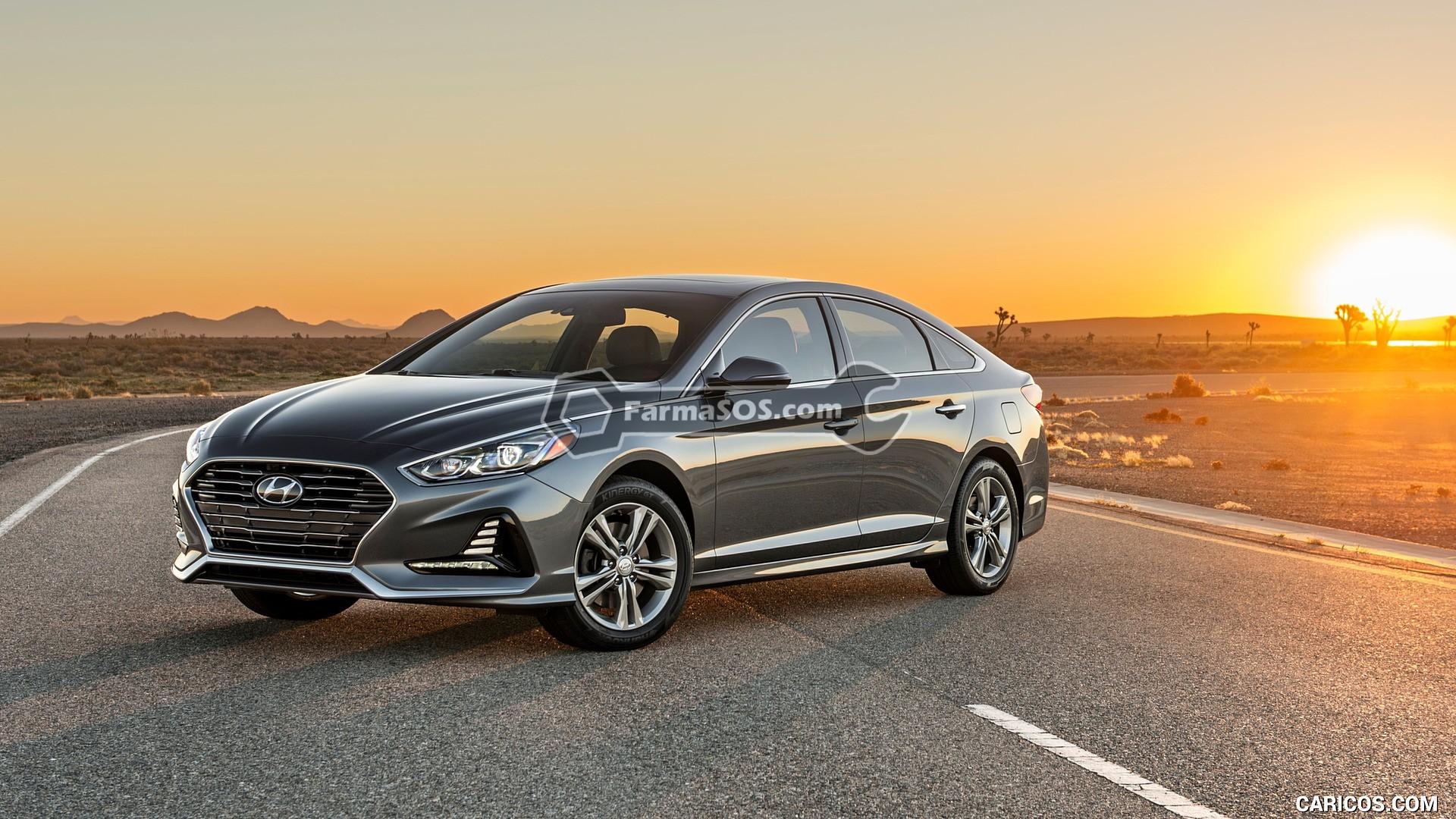 Hyundai Sonata 2018 2019 1 تصاویر هیوندای سوناتا مدل 2018 تا 2019