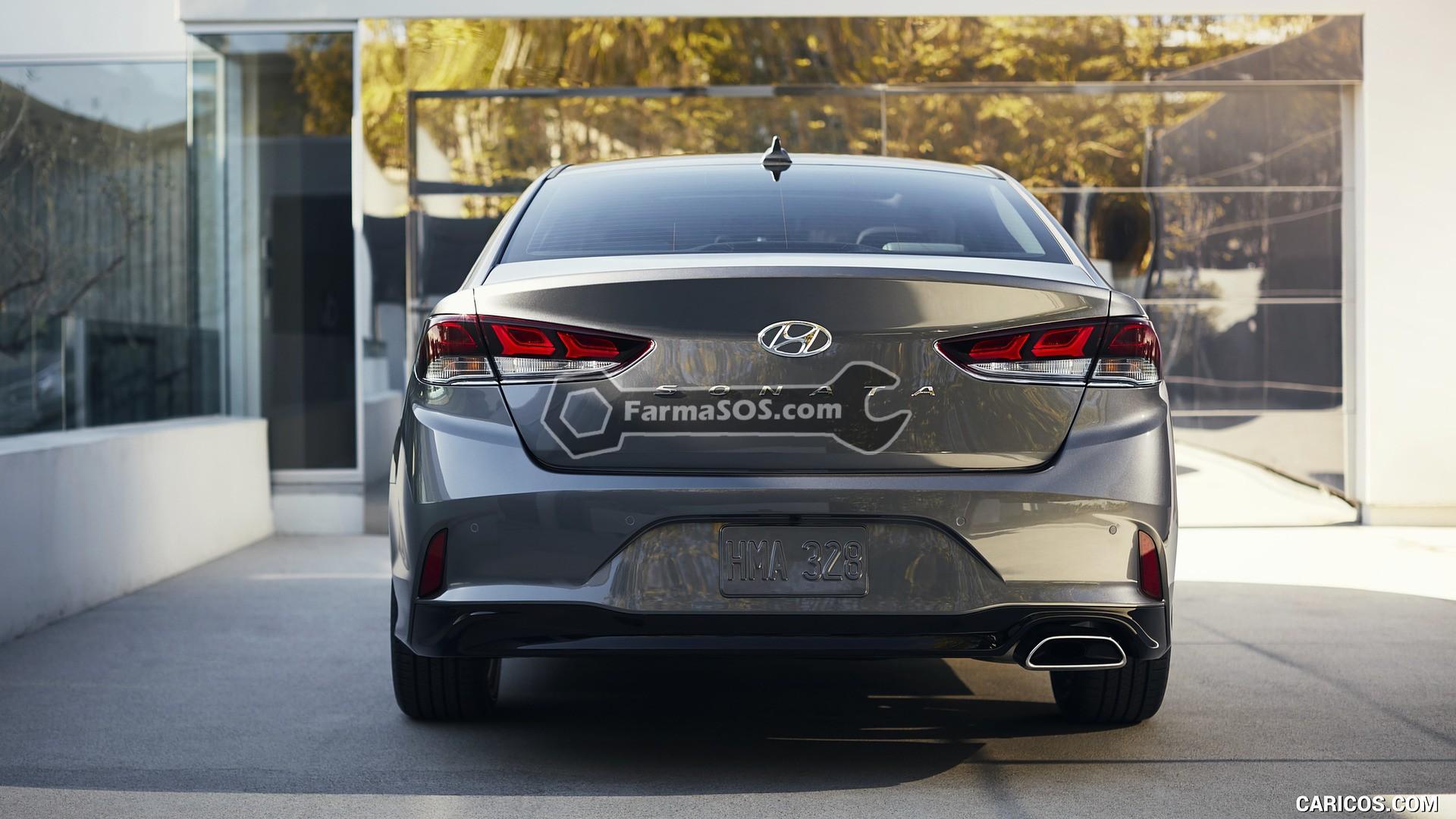Hyundai Sonata 2018 2019 11 تصاویر هیوندای سوناتا مدل 2018 تا 2019