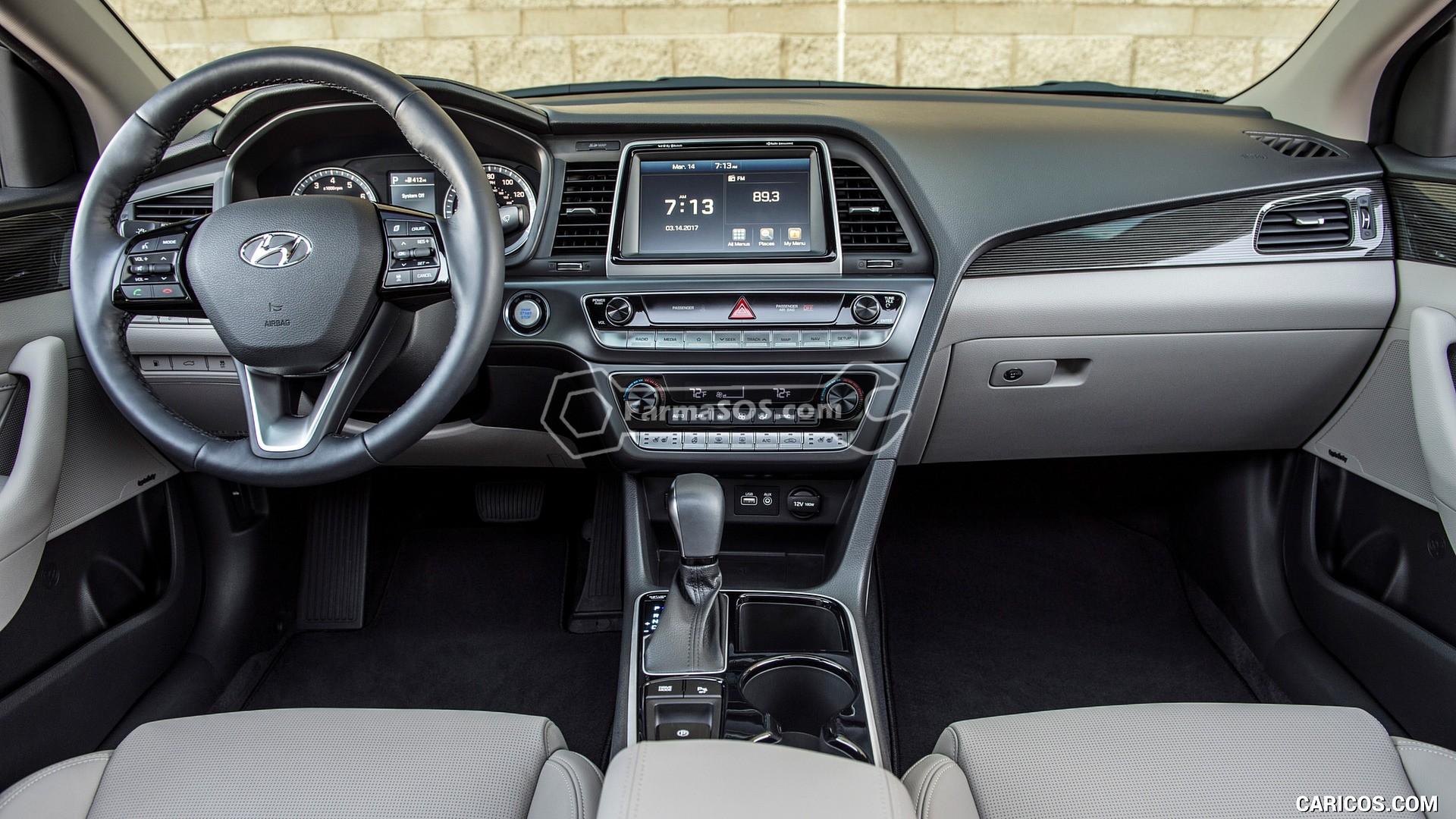 Hyundai Sonata 2018 2019 8 تصاویر هیوندای سوناتا مدل 2018 تا 2019