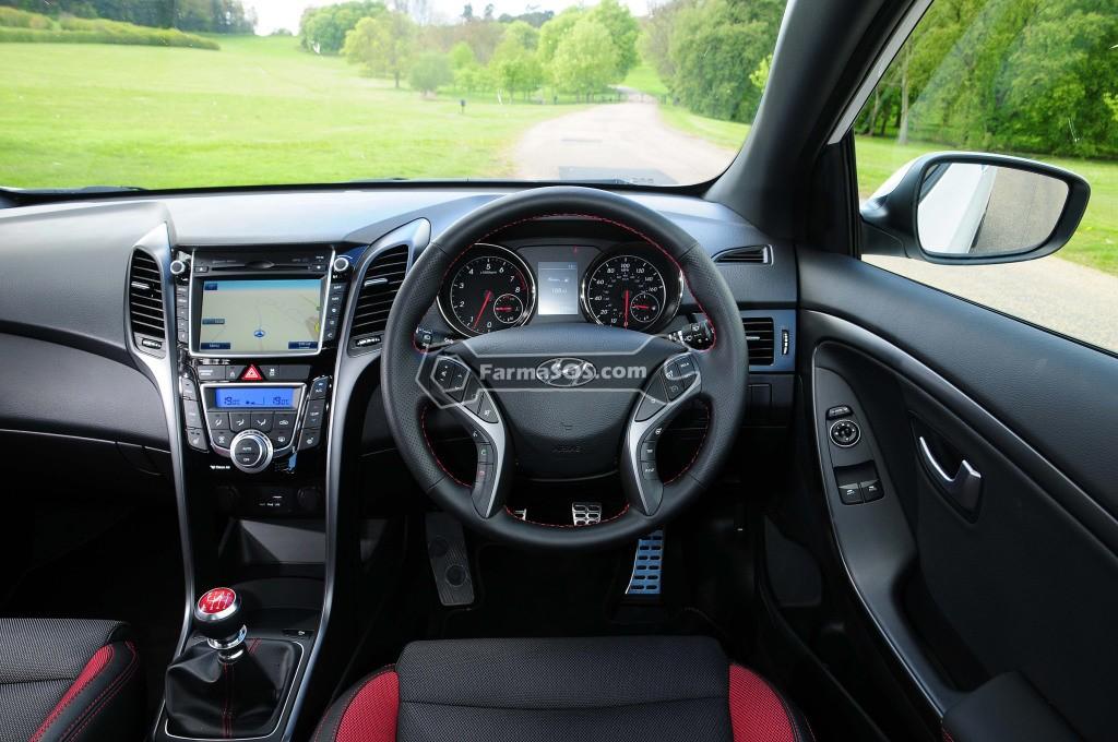Hyundai i30 2012 2016 6 تصاویر هیوندای I30 مدل 2012 تا 2016
